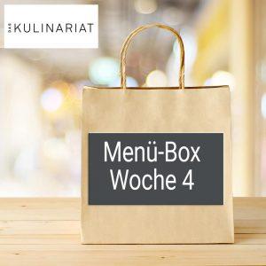 Das Kulinariat Menü-Box Woche 4 2021